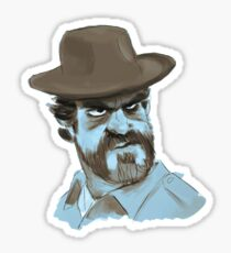 jim hopper Sticker
