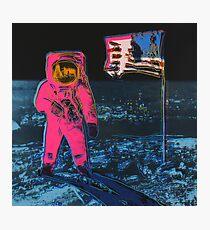 Andy Warhol Moon Walk high quality print Photographic Print