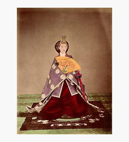 Meiji empress Shoken, Japan, 1873 Photographic Print