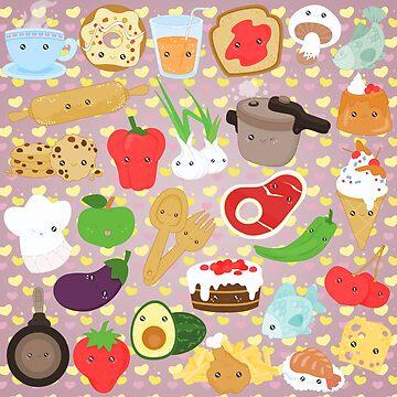 Cute food by alapapaju