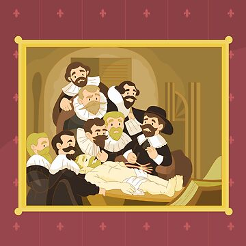 The Anatomy Lesson by Rembrandt by alapapaju