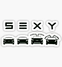 Sexy tesla Sticker