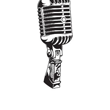 Classic Microphone by ianlewer