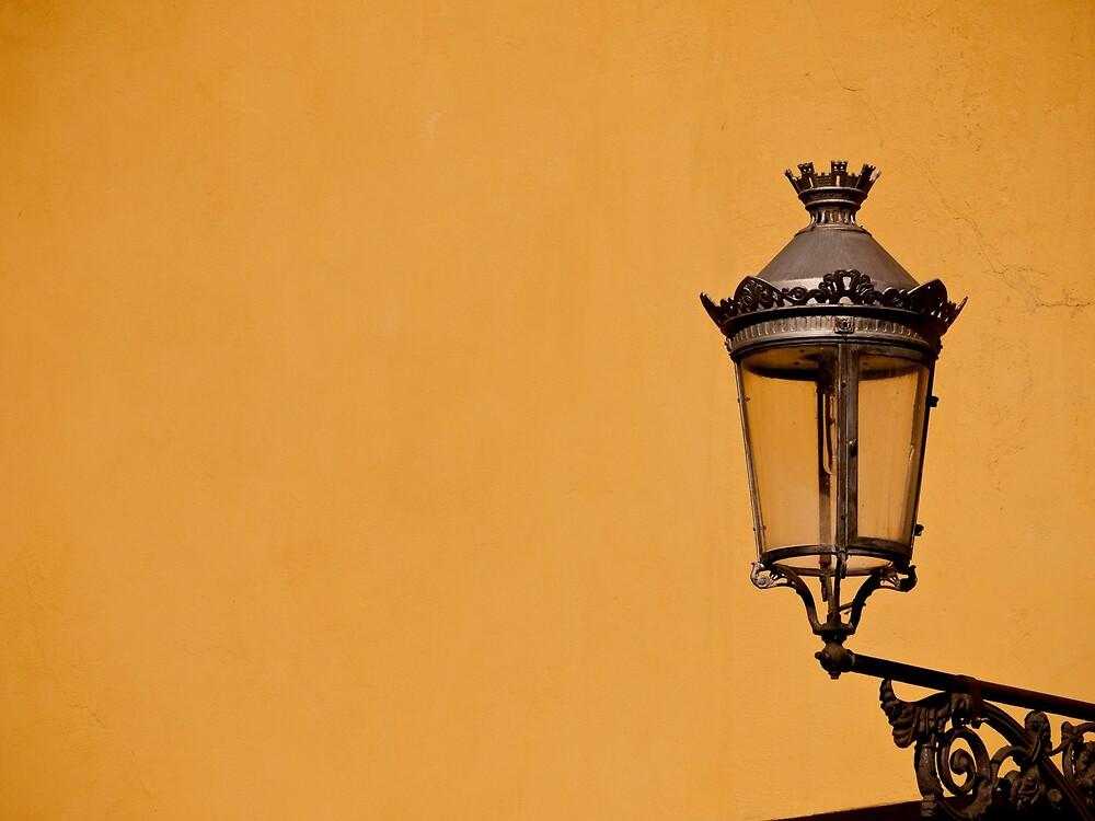 Yellow Lantern by Rae Tucker