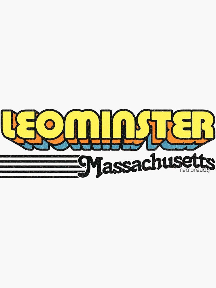 Leominster, Massachusetts | Retro Stripes by retroready