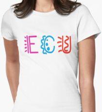 Edith Cowan University  [ECU] Womens Fitted T-Shirt