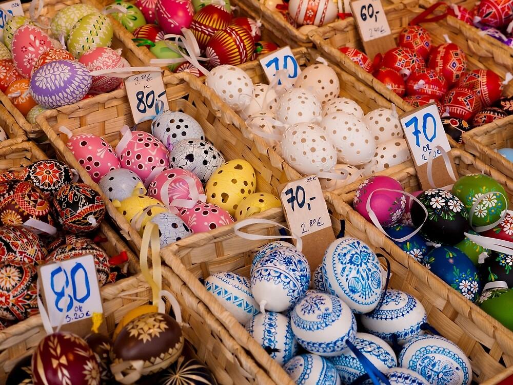 Easter Eggs by Rae Tucker