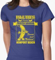 Bluth's Original Frozen Banana Women's Fitted T-Shirt
