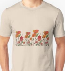 poppy field Unisex T-Shirt