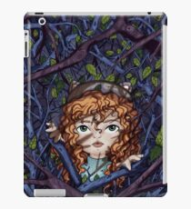 Little curious girl iPad Case/Skin