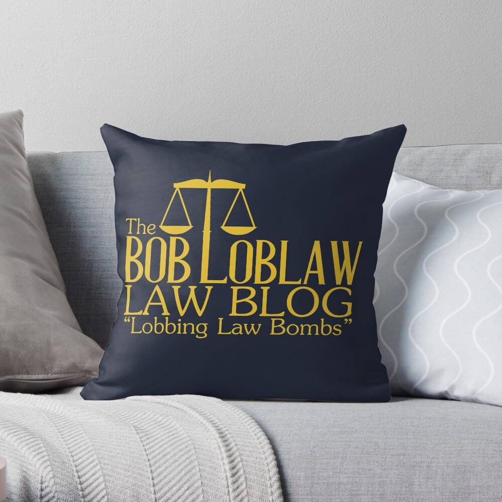 Der Bob Loblaw Low Blog Dekokissen