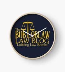 The Bob Loblaw Low Blog Clock