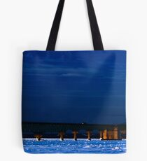 Bridge in Febuary Tote Bag