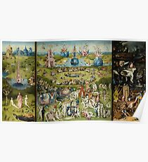 The Garden of Earthly Delights - Hieronymus Bosch Poster
