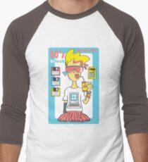 Hi Tech Girl Men's Baseball ¾ T-Shirt