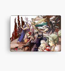 Final Fantasy VI Metal Print