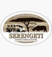 Nashorn - Afrika - Rhino - Africa Sticker