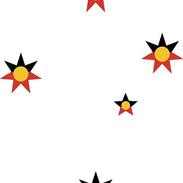 Aboriginal Southern Cross by Taz-Clothing