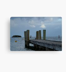 Pier at Rottnest Island Canvas Print