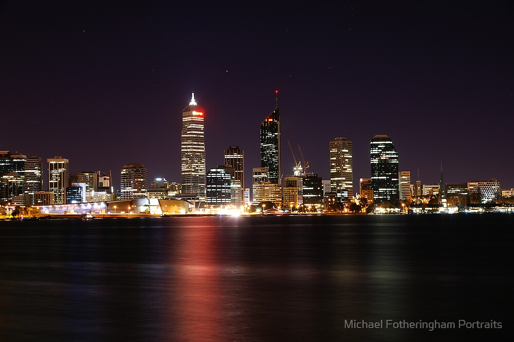 Perth by Night by Michael Fotheringham Portraits