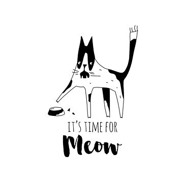 It's time for meow by Catme
