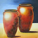 Mediterranean Pots by Estelle O'Brien