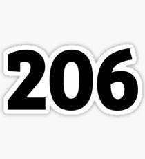 206 Sticker
