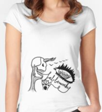 Jabberwocky Women's Fitted Scoop T-Shirt