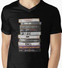 Hip Hop Tapes Men's V-Neck T-Shirt