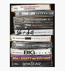 Hip Hop Tapes Photographic Print