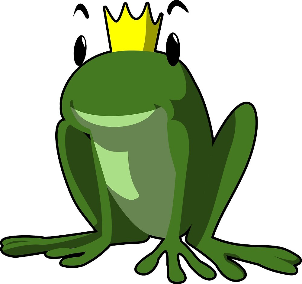 Frog frog prince fairy tale gift by schnibbel
