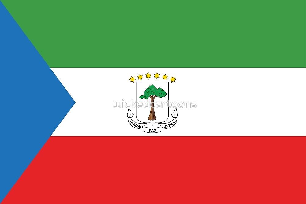 Equatorial Guinea by wickedcartoons