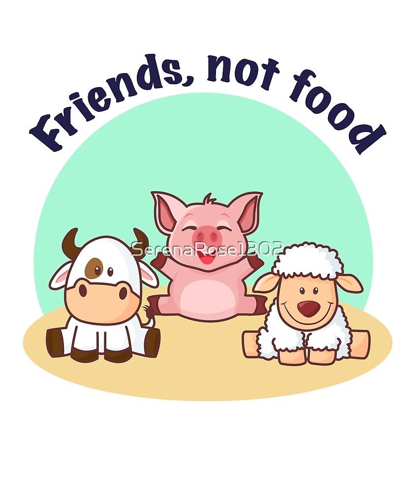 Friends, not food by SerenaRose1302