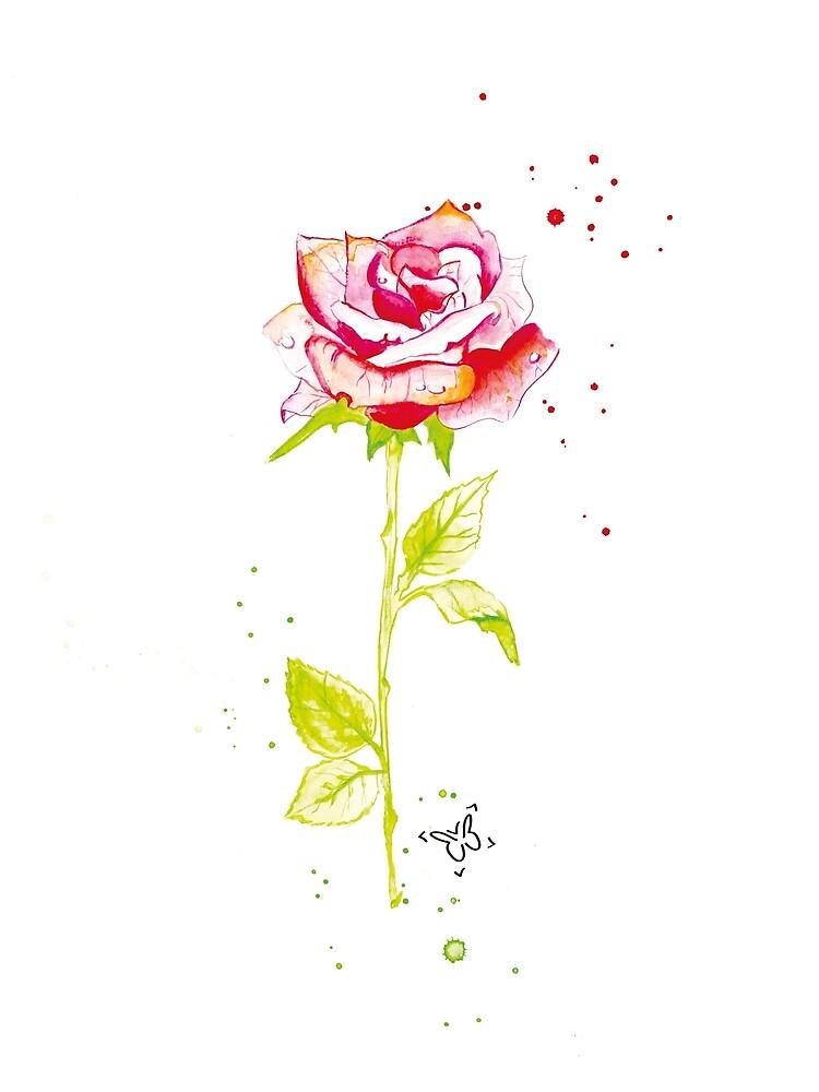 Rose by artbybuttafly
