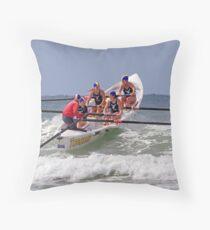 Torquay girls at Ocean Grove Throw Pillow