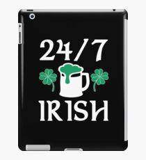 Irish Green Beer Love 24/7 iPad Case/Skin