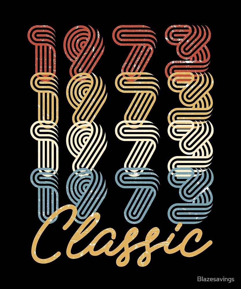 45th Birthday Gift Vintage 1973 Retro Classic BDay Present by Blazesavings