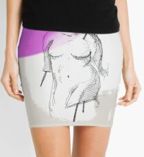 Female figure Mini Skirt