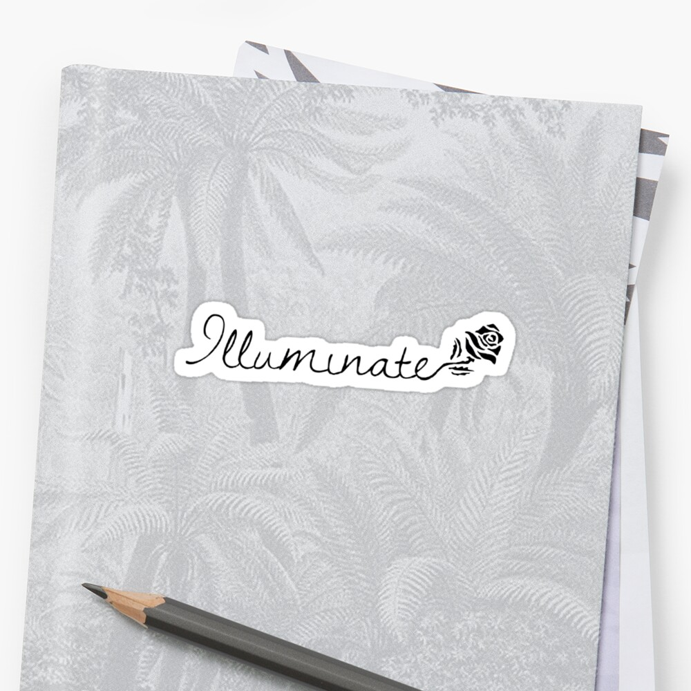 "Shawn Mendes ""Illuminate"" Rose by shawnxstickers"