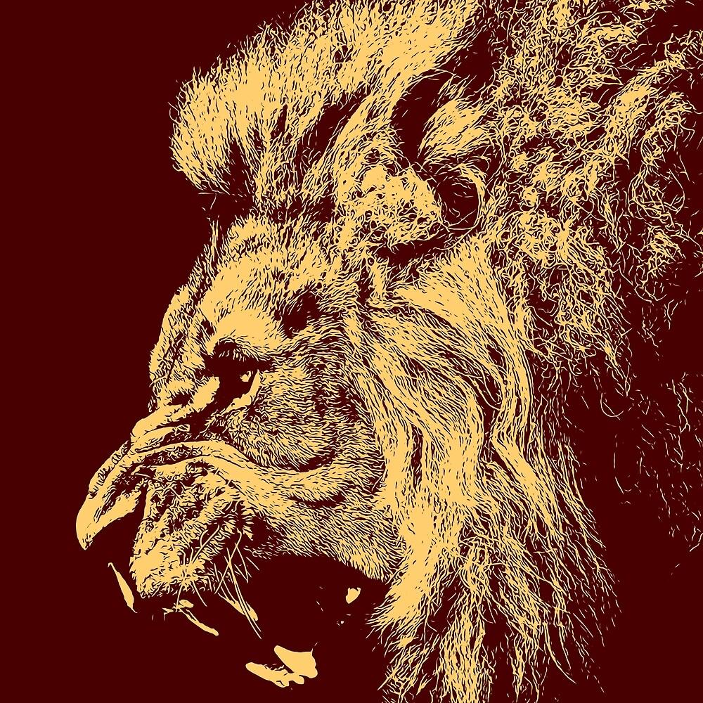 Lion King by Andrea Mazzocchetti