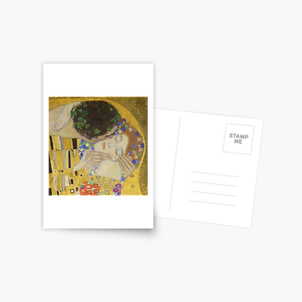 The Kiss - Gustav Klimt Postcard