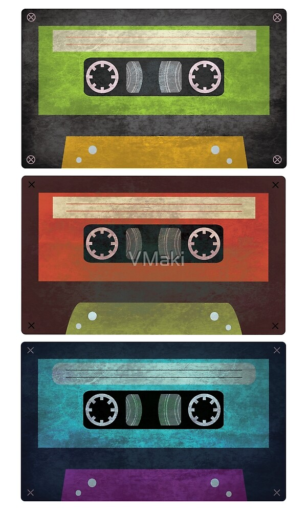 Compact Cassette grunge 90s by VMaki