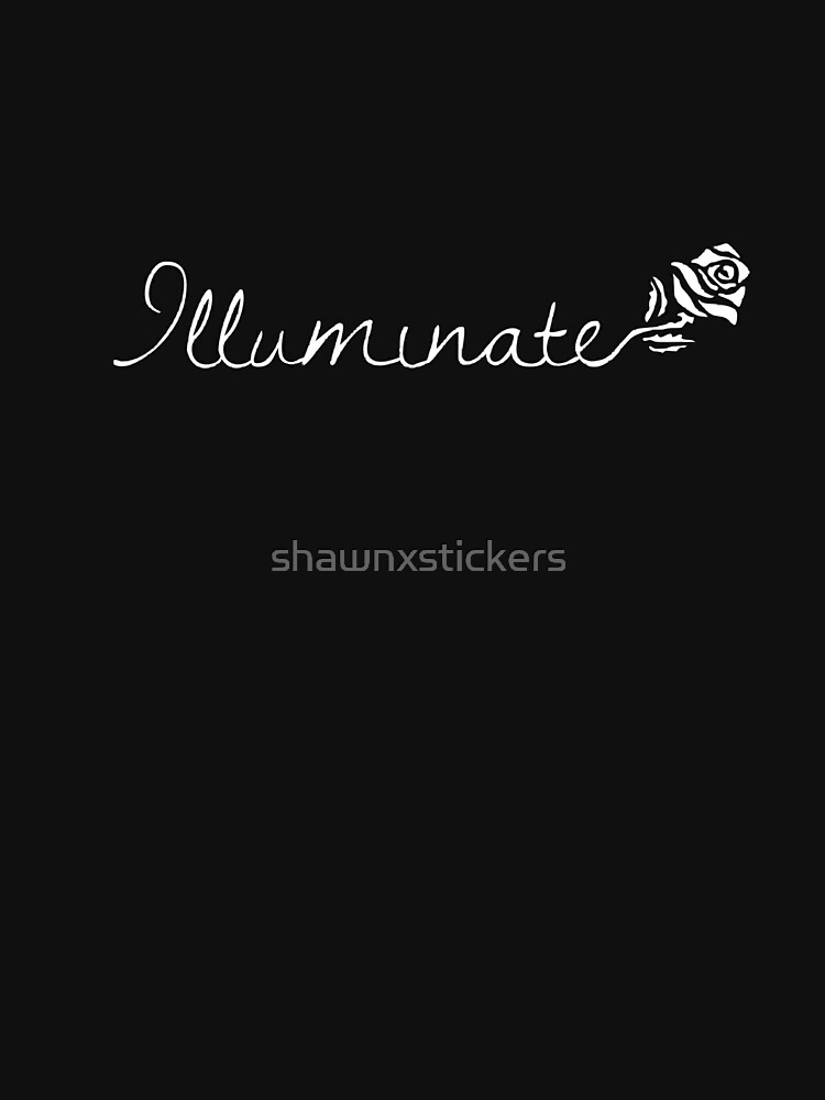 """Shawn Mendes """"Illuminate"""" Rose White by shawnxstickers"""