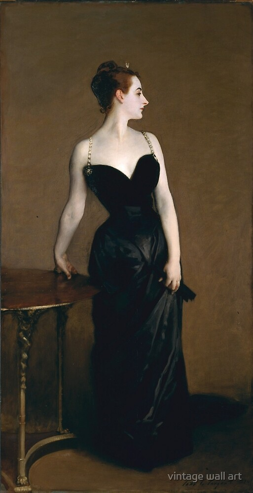 Madame X by John Singer Sargent, 1884 by fineearth