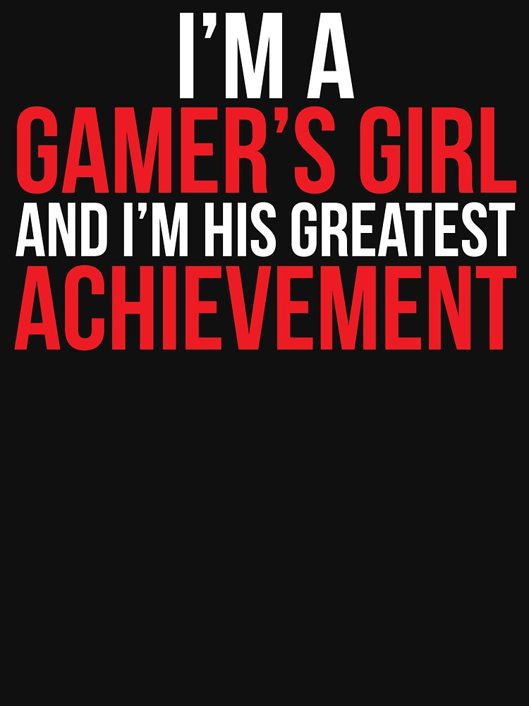 Gamers Girl Cute Video Game T-shirt by zcecmza
