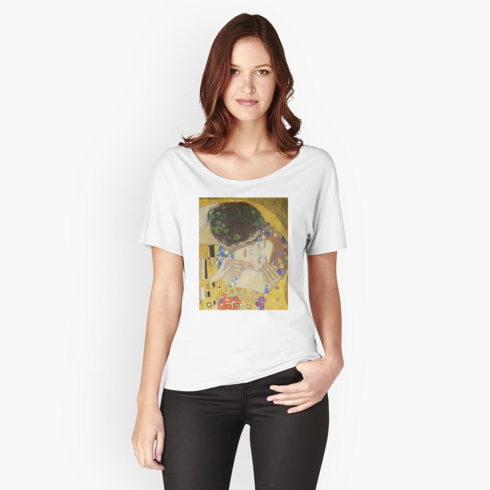 The Kiss - Gustav Klimt Relaxed Fit T-Shirt