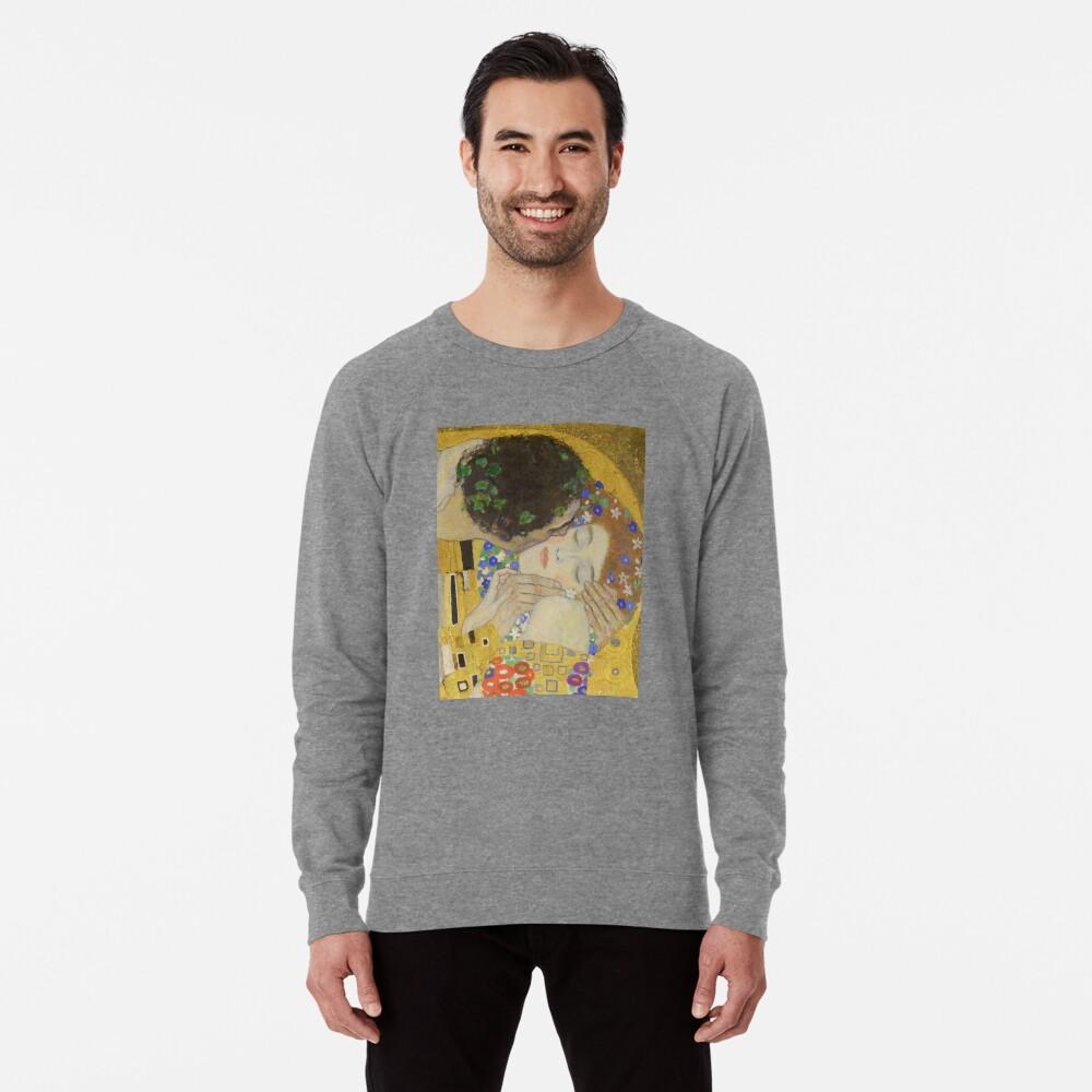 The Kiss - Gustav Klimt Lightweight Sweatshirt