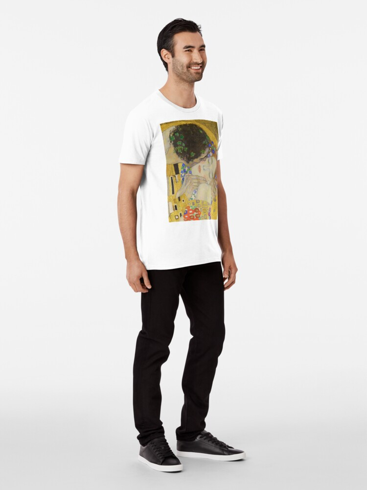 Alternate view of The Kiss - Gustav Klimt Premium T-Shirt