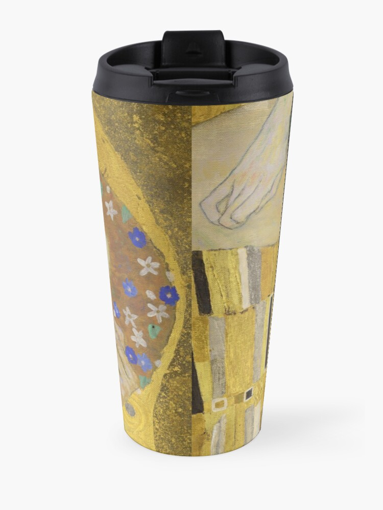 Alternate view of The Kiss - Gustav Klimt Travel Mug