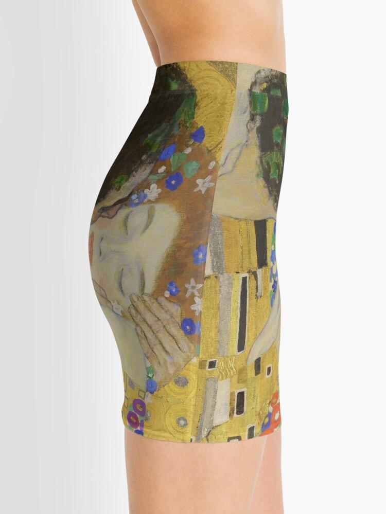 Alternate view of The Kiss - Gustav Klimt Mini Skirt